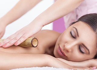 Hot Stone Massage Training course - Warm Bamboo Massage Treatment Image