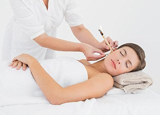 Indian Head Massage Training course - Ear Candling Treatment Image