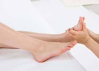 Indian Head Massage Training course - Reflexology Treatment Image