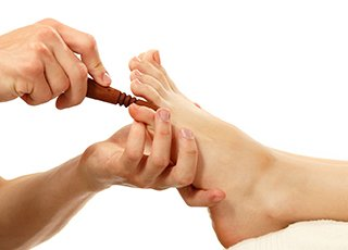 Ear Candling Training course - Thai Foot Massage Treatment Image