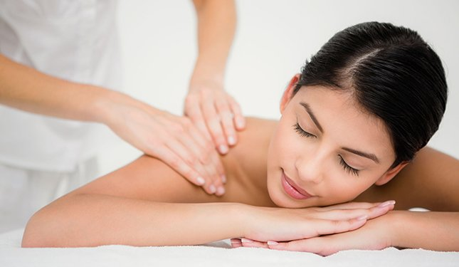 One to One Beauty and Massage Training - Back Massage Image