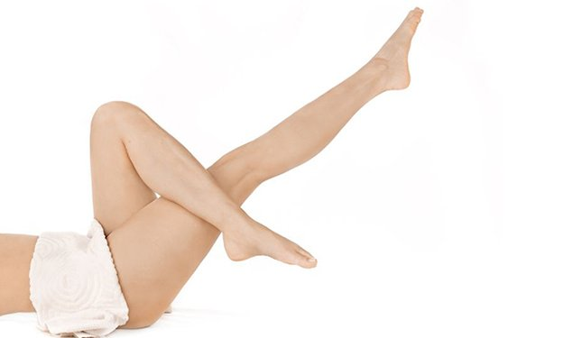 Advanced Waxing Training Course image of hairless legs
