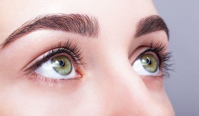 Lash Lift Training Courses - Close up of Lady's eyelashes