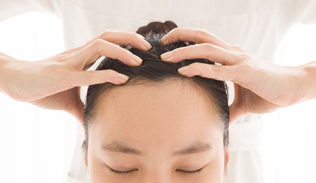 Indian Head Massage Training Course - Scalp Massage Image