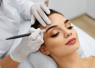 Cosmetic Chemical Skin Peels Training course - Microblading Treatment Image