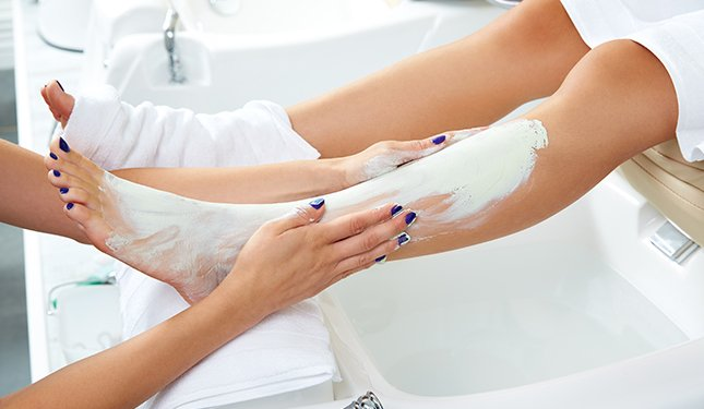 Pedicure Training Courses - Leg Massage Image