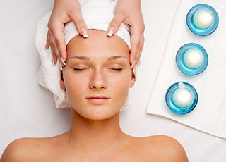 Indian Head Massage Training course - Facial Massage Treatment Image
