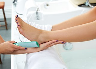 Beauty Therapy Training Courses - Image of Pedicure Treatment