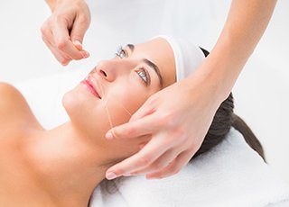 Advanced Waxing Training course - Threading Treatment Image