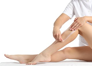 Threading Training course - Leg Waxing Treatment Image