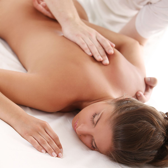 Holistic and Massage Training courses image of back massage
