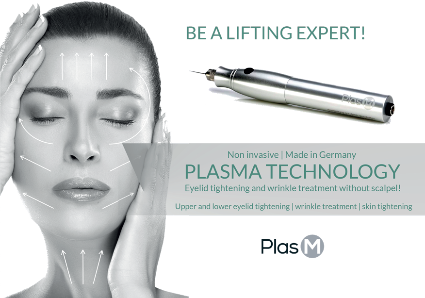 Plasma Pen Training Female Model before and after